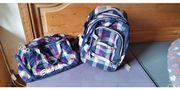 Satch- Schulrucksack und Satch- Sporttasche