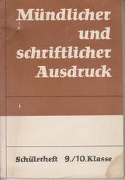 DDR Schulbuch Lehrbuch Mündlich u