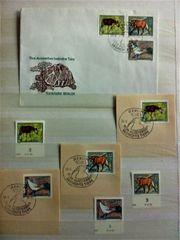 DDR Briefmarken Ersttagsbrief Tierpark Berlin