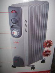 Elektroheizung Öl Radiator 9 Rippen