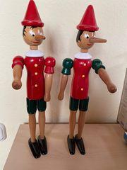 Holzfiguren Pinocchio Handarbeit