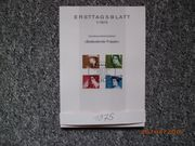 Ersttagsblätter Bund 1975 - 2000