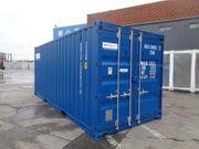 Nieuwe gebruikte 20ft Storage Container
