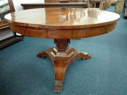 antiker runde Tisch Kirschbaum
