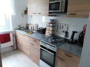 Küche braun grau