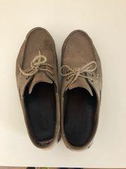 Bootsschuh Leder