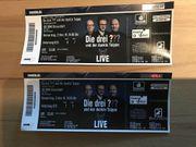 2 Tickets Die drei und