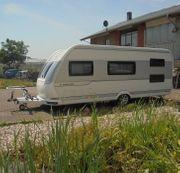 Wohnwagen Hobby IC Silverline 545