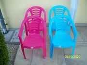 Verkaufe 4 Kinder Garten Stühle