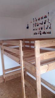 IKEA Kinderhochbett Mydal 90x200
