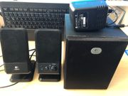 Logitech R-20 Speaker System für