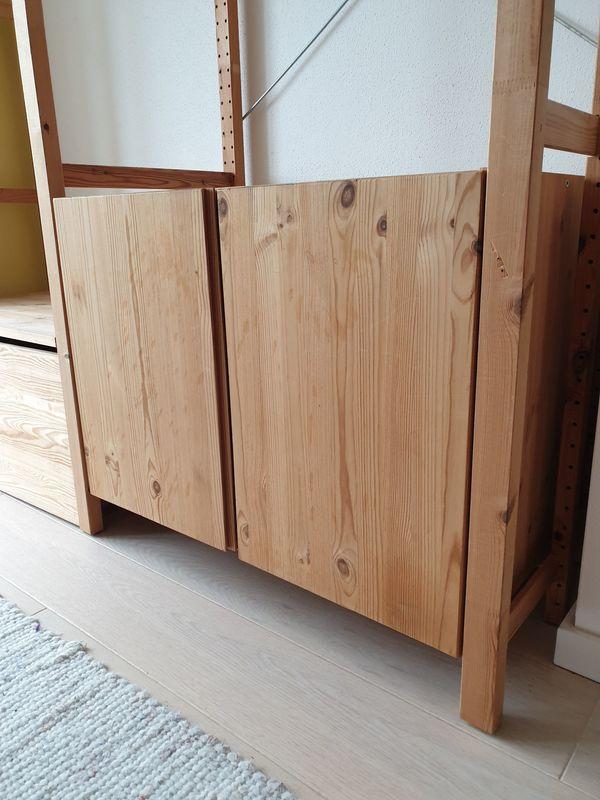 IKEA IVAR Schrank - Aying Dürrnhaar - Kiefer, B83/T50/H58 cm, inkl. Befestigung - Aying Dürrnhaar