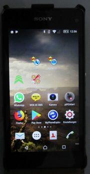 Sony Xperia Z1 Compact mit