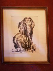 Original Gemälde Zeichnungen Skizzen Aquarelle