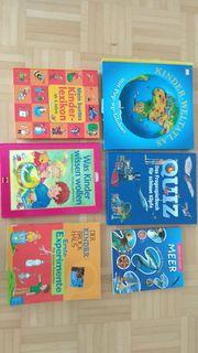6 Kinderbücher Wissen Quiz Experimente