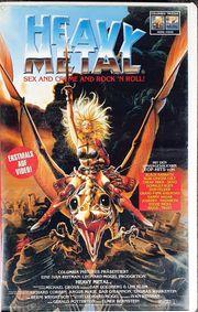 Heavy Metal VHS Kassette