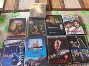 9- Stück gebraucht DVD Filme