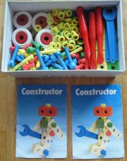 Heros - Contructor Baukasten 320 Teile