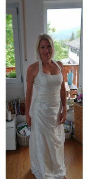 Hochzeitskleid Champagner gr 38