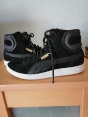 Verkaufe schwarze Damen Puma sneaker