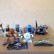Lego-Bionicle 6 Stk
