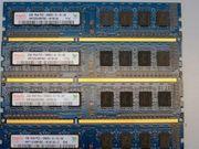 DDR3 RAM - 4GB x4 16GB
