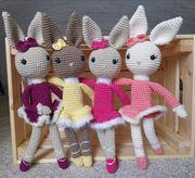 Ballerina Bunny Häschen Hase Hasi
