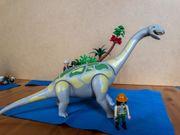 Playmobil Brachiosaurus in Felslandschaft