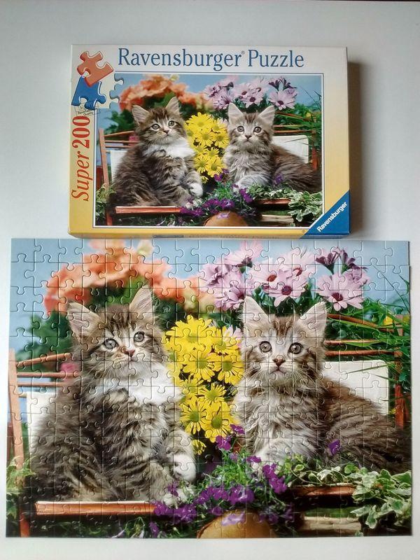 Ravensburger Puzzle Katzenfreunde Super 200