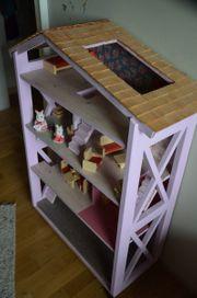 Puppenhaus 1 12 mit Holzmöbel