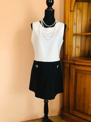 neuwertig Vintage Sommerkleid Ärmellos