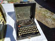 Remington Portable Alte Kofferschreibmaschine