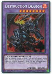 Zerstörungsdrache Secret Rare Yugioh Legendary