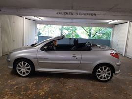 Peugeot 206 CC Quicksilver: Kleinanzeigen aus Mannheim Käfertal - Rubrik Peugeot Cabrio