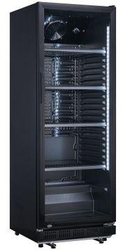 NEU Glastürkühlschrank Kühlschrank schwarz Breite