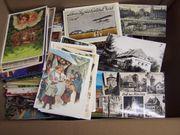 Karton mit Ansichtskarten Postkarten 8kg