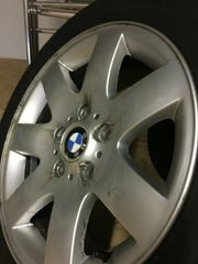 Winterräder Alu für BMW E46