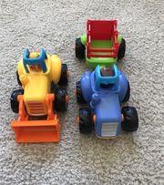 Aufziehauto Spielzeugauto fährt weit wie