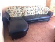 Sofa mit Longchair Sessel und