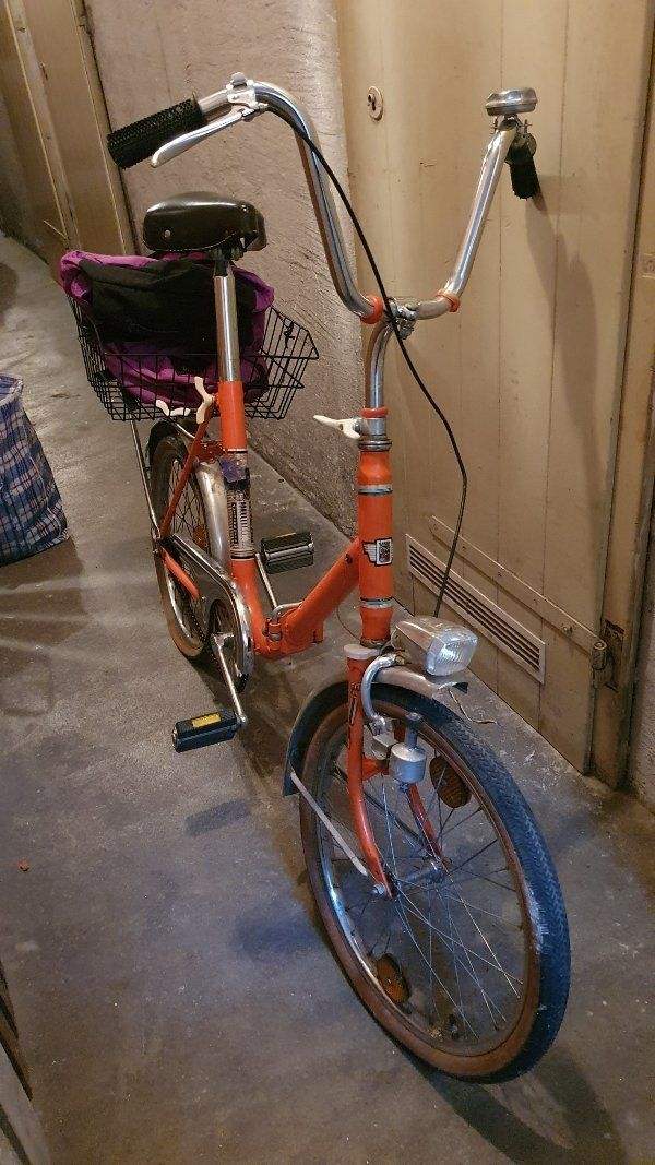 klapbar Fahrrad jagdring