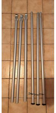 Zeltstangen Stangen Aufstellstab Stütze Aluminium