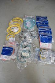 80 Stück LWL Lichtwellenleiter Glasfaser