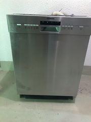 Siemens Spülmaschine mit Edelstahlfront