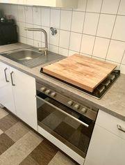 Einbauküche Waschmaschine Herd Geschirrspüler Backofen