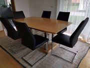 Esszimmertisch ausziehbar 6 Stühle