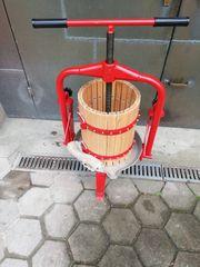 Obstpresse plus Obstmühle mit Filtersack