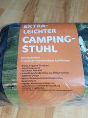 extraleichter Falt-Campingstuhl OVP 1 4kg