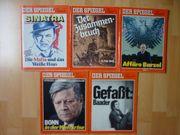 Der Spiegel verschiedene Ausgaben 70er