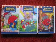 3 Benjamin Blümchen VHS Cassetten