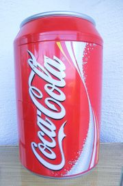 Original Coca Cola Can Kühlbox